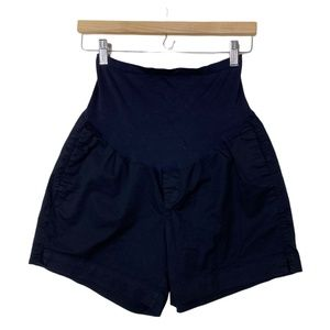 Old Navy Maternity Casual Black Shorts Belly Band